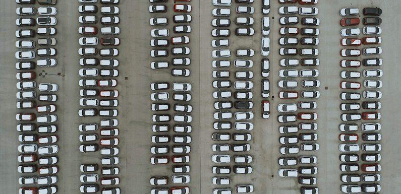 Il parco auto dell'Europa