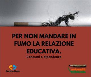 Per non mandare in fumo la relazione educativa