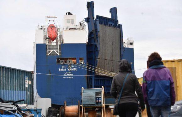 Genova, in arrivo una terza nave saudita