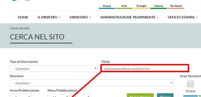 Malformazioni dei neonati: a Taranto negato il diritto alla conoscenza.