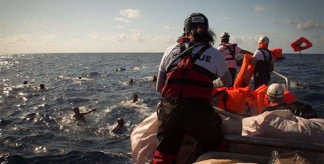 Non penalizzare i soccorsi in mare!