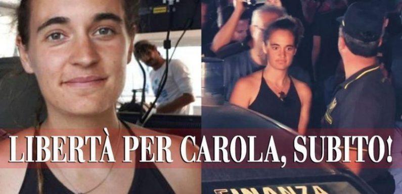 Libertà per Carola, subito!