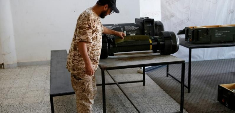 Missili francesi nella base di Haftar