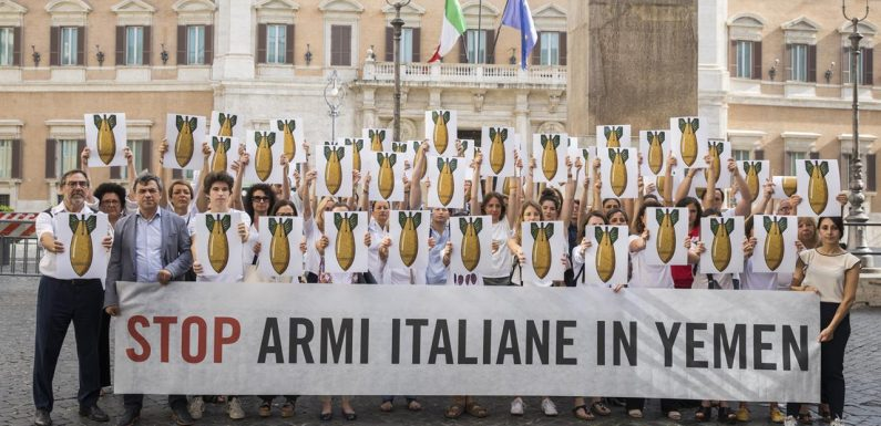 Stop alle bombe italiane in Yemen