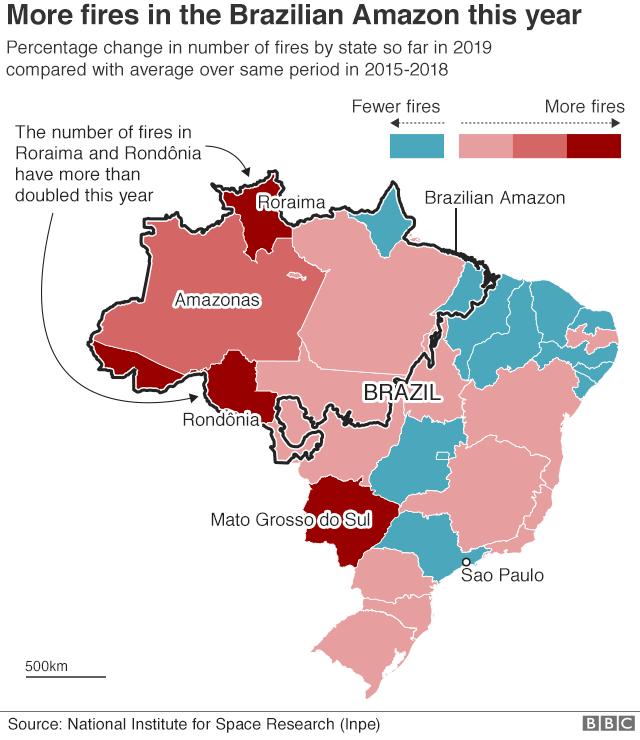 incendi, amazzonia, bolsonaro