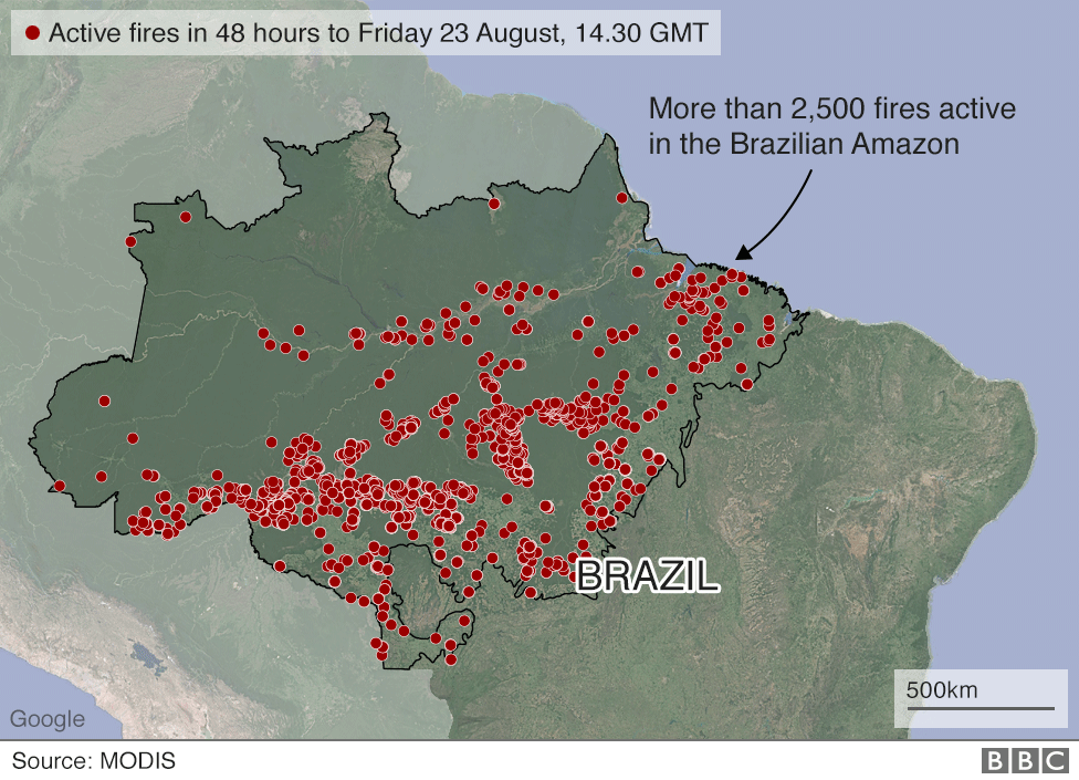 amazzonia, incendi, bolsonaro, brasile
