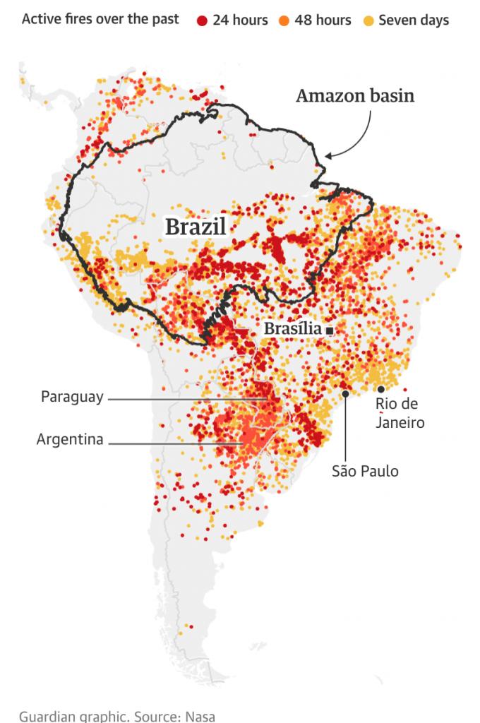 brasile, sud america, incendi, amazzonia, bolsonaro