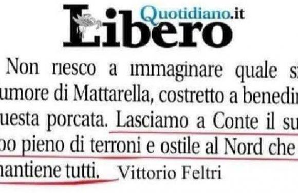 Abbiamo presentato una denuncia contro Vittorio Feltri: continuiamo a batterci contro il razzismo!