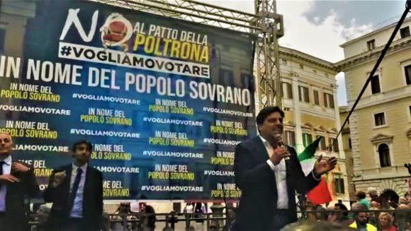 """Il podestà: """"Contro gli usurpatori, viva il tricolore!"""""""