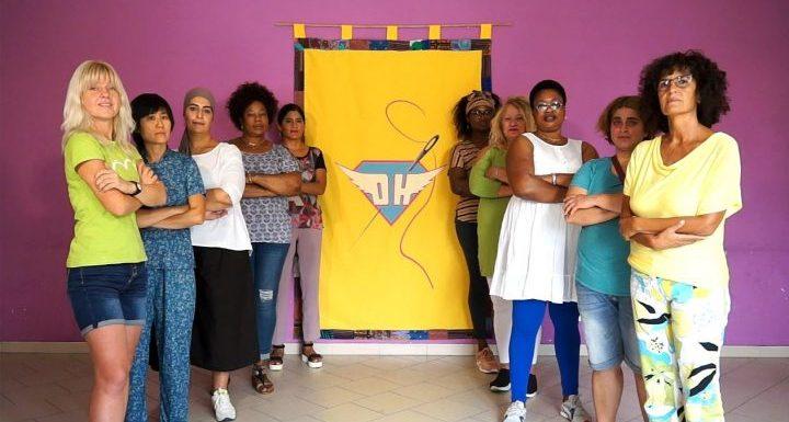 Pronti, via! Da oggi puoi finanziare In-Tessere, la nostra sartoria popolare per donne vulnerabili!