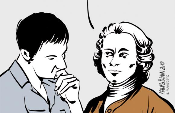 Rousseau (e Voltaire)