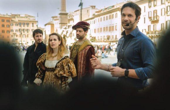Visite teatralizzate guidate a Roma per aiutare i malati di fibromialgia. 8 settembre