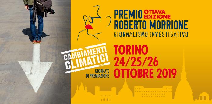 Cambiamenti climatici: il Premio Morrione a Torino