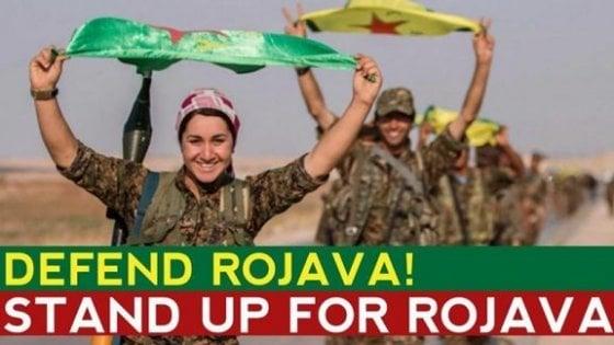 Guerra in Siria, l'appello delle donne curde