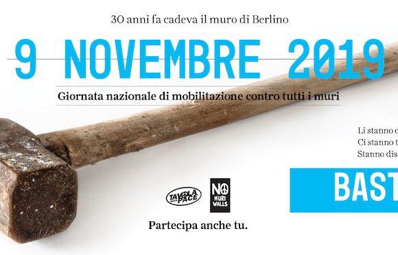 Il 9 novembre Giornata nazionale contro tutti i muri. Le iniziative della Tavola della Pace