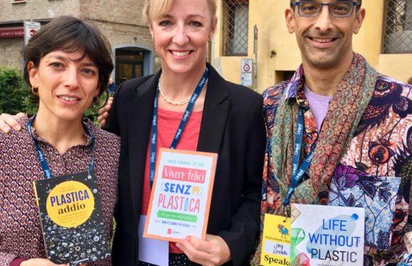 """""""Perché una vita senza plastica è più felice"""". Intervista a Chantal Plamondon e Jay Sinha"""