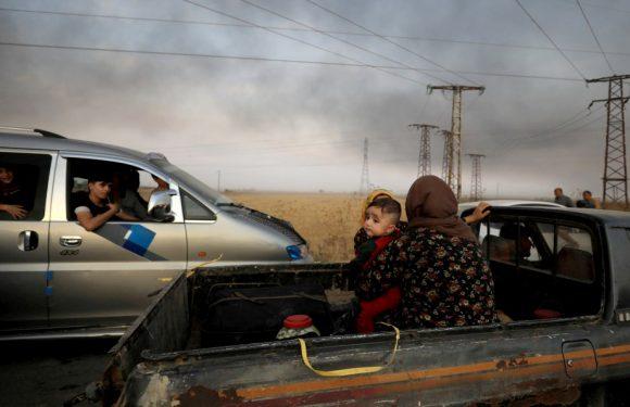 Rojava, 200mila sfollati senza cibo e acqua