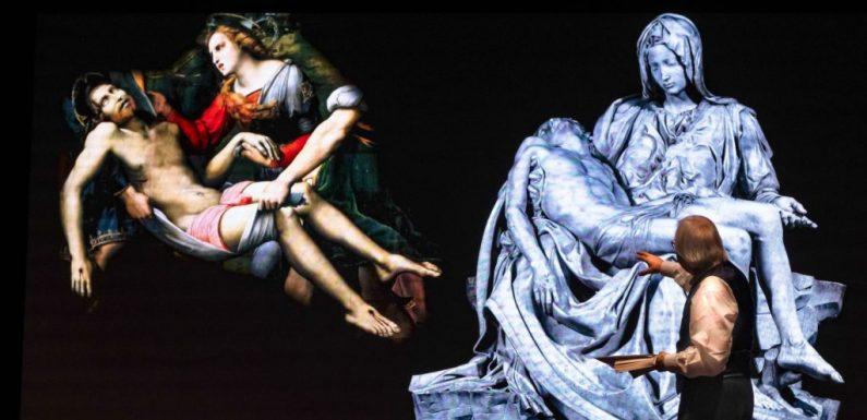 """Teatro Olimpico. """"Raffaello"""", l'appassionato grande affresco di Vittorio Sgarbi"""
