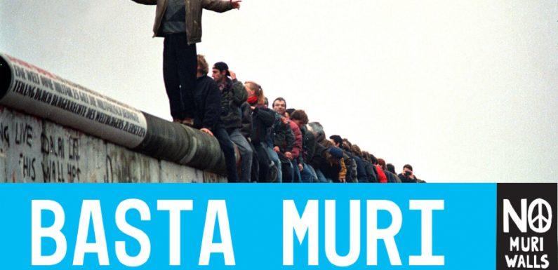 9 novembre Prima Giornata contro i Muri – LE ADESIONI