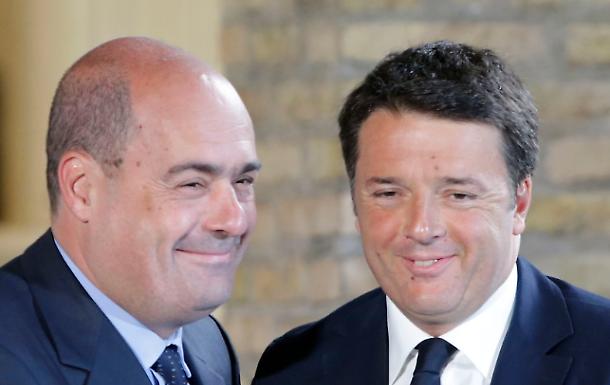 Bordate Renzi-Zingaretti e il governo vacilla
