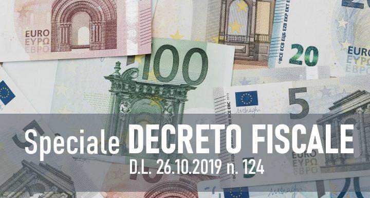 Decreto Fiscale e Legge 185/90