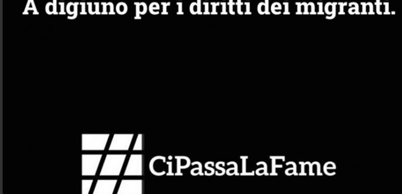 Gli attivisti di #Cipassalafame sono tornati a digiunare, ogni 28 del mese