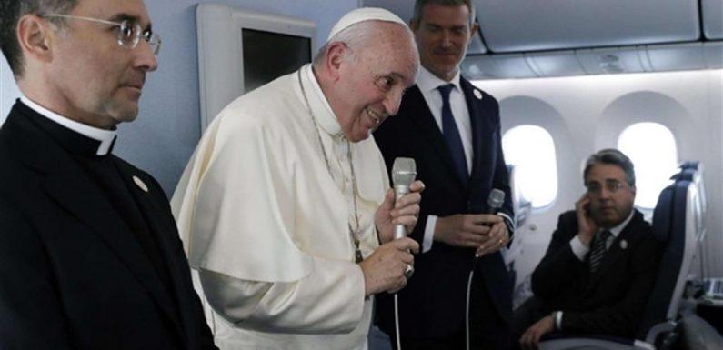 Papa Francesco su Enciclica sulla Nonviolenza e la Pace