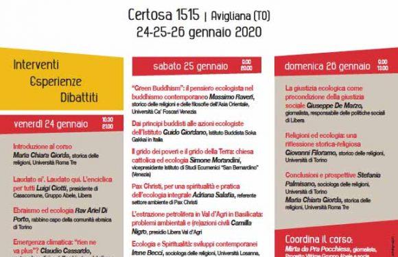 Religione e/è ecologia: corso di formazione organizzato da CasaComune, Laudatosì, Laudatoqui