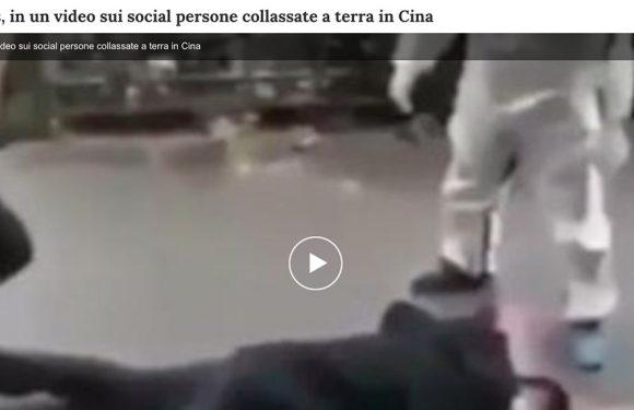 Coronavirus, il video delle persone svenute per strada e il rischio di diffondere contenuti non verificati