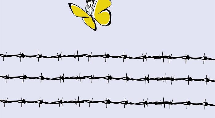 La farfalla della bambina di Terezin