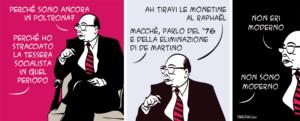 Taglio alto/Dialogo con Craxi