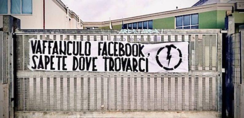 Facebook. Per il Tribunale è legittima la decisione di cancellare Forza Nuova e a Pomezia compaiono nuove scritte d'odio