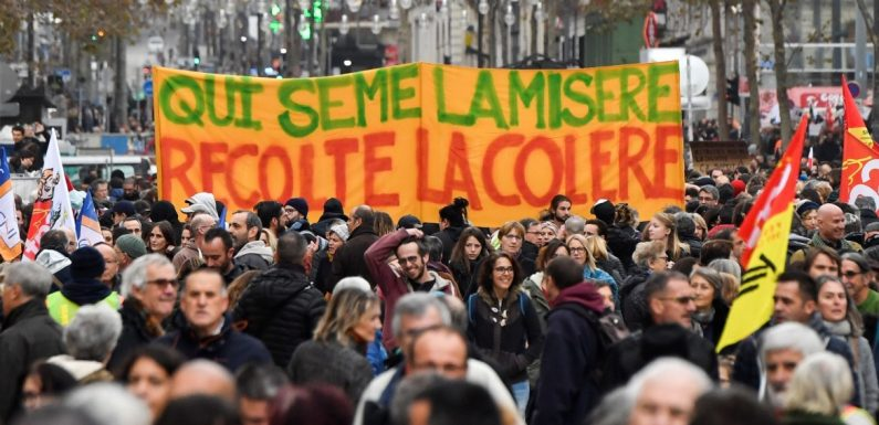 Francia: la riforma delle pensioni e l'imponente movimento di protesta contro Macron