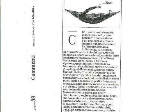 """Michele Serra: """"Iscriviamoci all'ANPI"""""""