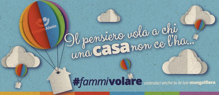"""#fammivolare. Per la Festa del Papà un pensiero """"artistico"""" per chi è senza casa"""