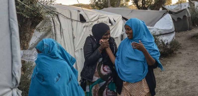Le violenze sulle donne al campo di Moria