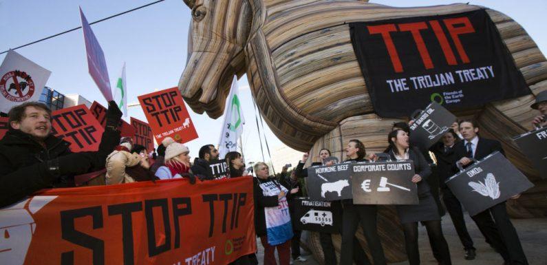 Prove tecniche di ritorno del TTIP in Europa: la denuncia delle associazioni