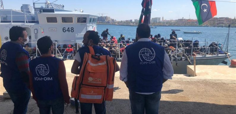 """Centinaia di migranti riportati in Libia, l'Oim: """"Non si ha più notizia di loro"""""""