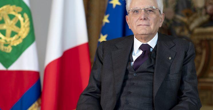 """Mattarella: """"La lotta di Liberazione fece rinascere il Paese, ce la faremo anche oggi"""""""