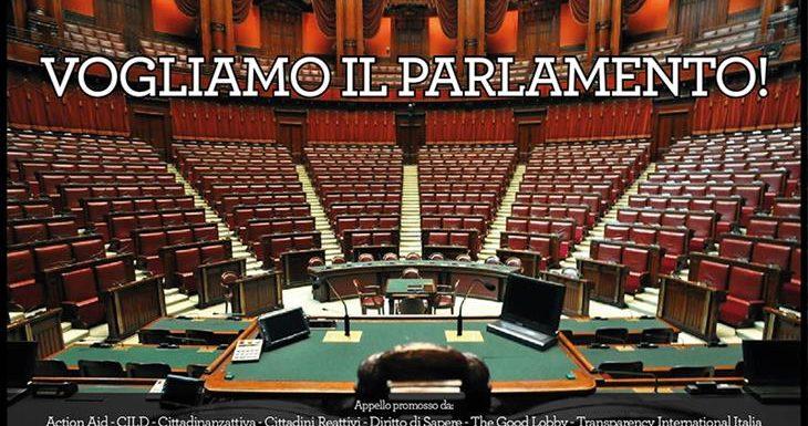 Vogliamo il Parlamento!