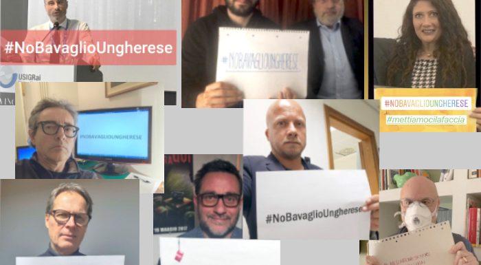 Oggi tweetstorm #nobavaglioungherese