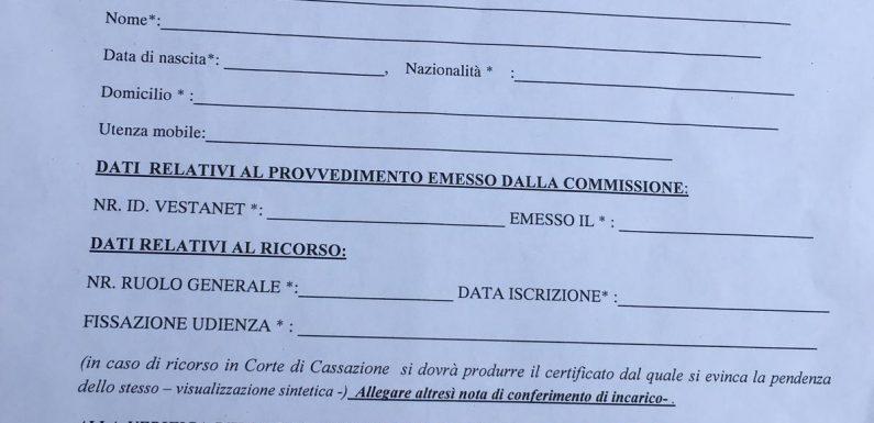 La richiesta illegittima dell'Ufficio Immigrazione della Questura di Roma