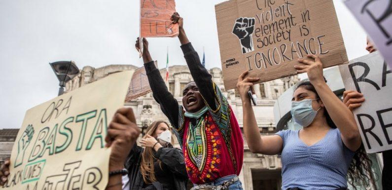 L'italia contro ogni razzismo