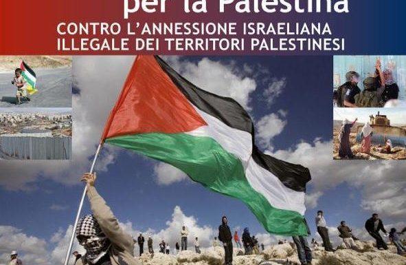 Oggi in piazza per la Palestina!