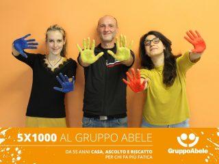 Parte la campagna social per il 5X1000 al Gruppo Abele. I testimonial siamo noi!