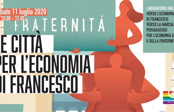 Le Città per l'Economia di Francesco – Laboratorio online sabato 11 luglio