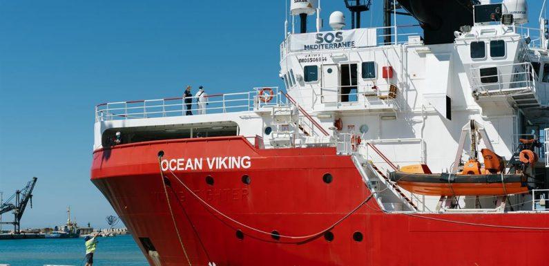Ocean Viking in stato di fermo amministrativo, 11 ore di ispezione a bordo