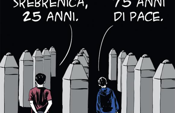 Srebrenica, Europa