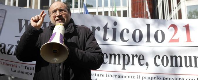 Inaccettabili gli insulti a Giulietti. Esposto al Ministro degli Interni