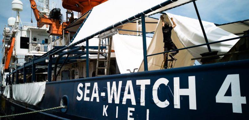 Sea-Watch torna in mare. Prima missione per la nuova nave